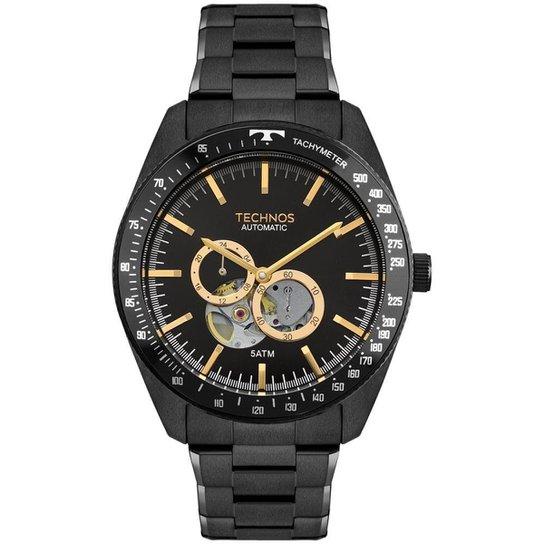 d7243b9f1c2c1 Relógio Technos Masculino Automatico - 82S7AC 4P 82S7AC 4P - Preto ...