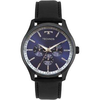 0c9648e91fc Relógio Pulso Masculino Everlast Pulseira Couro Cronógrafo. Ver similares.  Confira · Relógio Technos Masculino Steel - 6P29AJP 2A 6P29AJP 2A