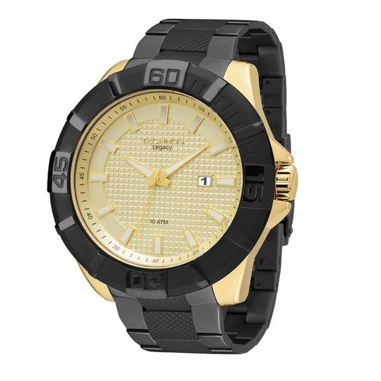 4d44901f1ee Relógio Technos Legacy Masculino Analógico - 2315ABX 4X 2315ABX 4X - Preto