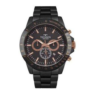 e9720c2553 Relógio Technos Masculino Ceramic Saphire