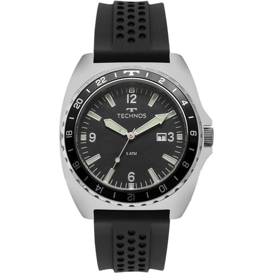 c4cb20754e6 Relógio Technos Racer Masculino - Preto - Compre Agora