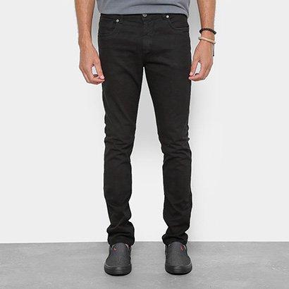 Calça Sarja Skinny Redley Black Confort Masculina
