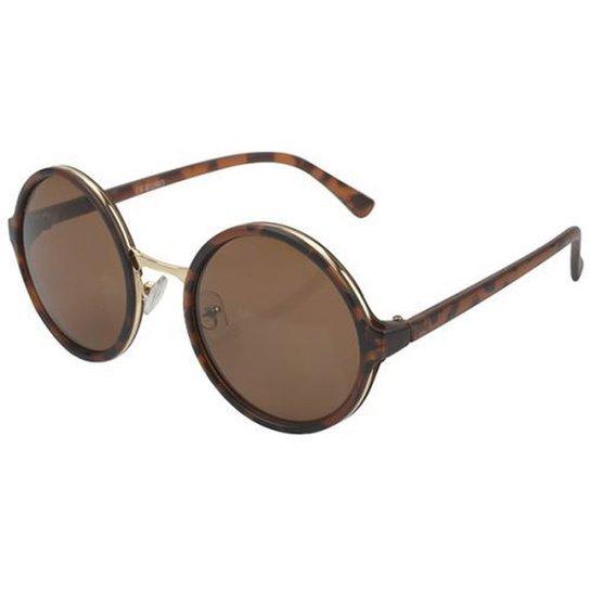 592b8b31deb48 Óculos De Sol Euro Feminino - Oc060eu 8M - Compre Agora