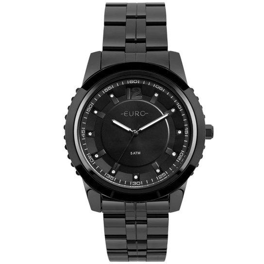 970d4bfe8f6 Relógio Euro Feminino Metal Glam - EU2035YOF 4P EU2035YOF 4P - Preto ...