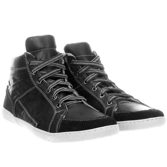 6d3522165 Sapatênis Couro NewSpirit London Masculino   Netshoes