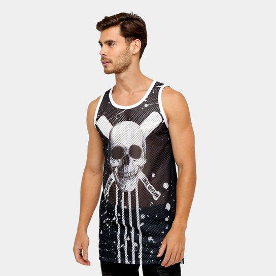 1ad6a122318ea Regata Local Tela Skull Masculina - Compre Agora