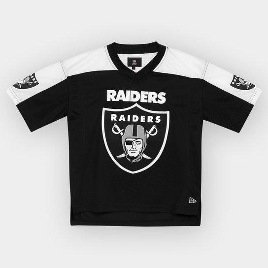 710f3060c72b9 Camiseta New Era NFL Oakland Raiders Toddler Infantil - Compre Agora ...