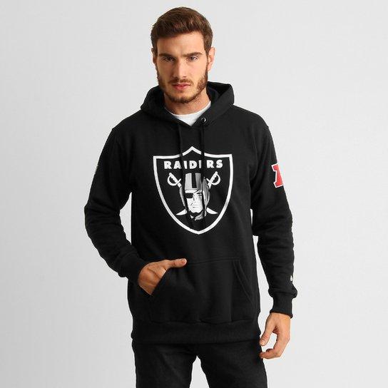 eeb6ab3f40 Moletom New Era NFL Oakland Raiders c  Capuz - Compre Agora