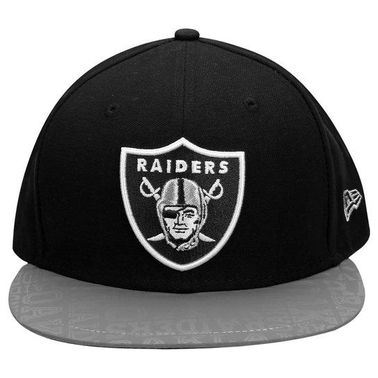 e06dc16b6f09b Boné New Era 5950 NFL Official Draft Oakland Raiders - Compre Agora ...