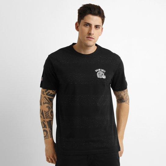 2df7be82b5294 Camiseta New Era NFL Oakland Raiders Listrada - Compre Agora