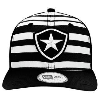 Boné New Era Botafogo Aba Curva Listrado 940 Masculino 4f24b366911