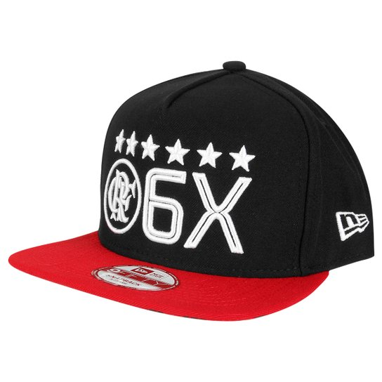 Boné New Era Flamengo Aba Reta 950 6X Masculino - Compre Agora ... 8c66b52108d