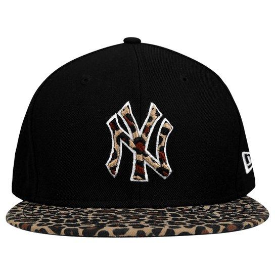 Boné New Era 950 MLB Leopard New York Yankees - Preto - Compre Agora ... e7460910230