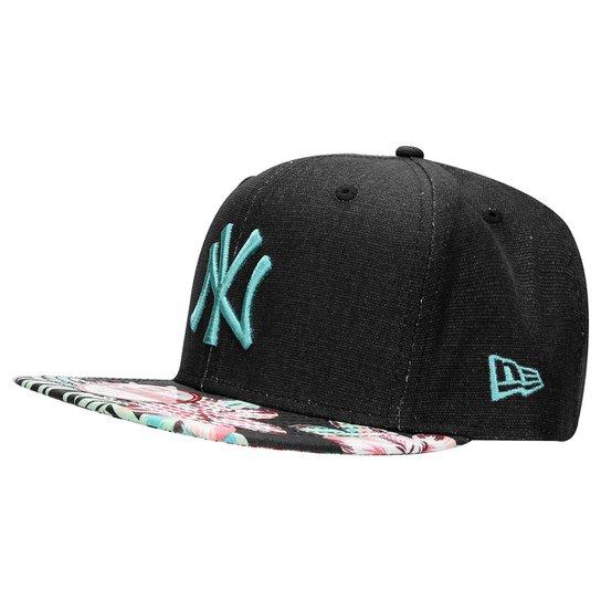 Boné New Era 950 MLB Original Fit Floral New York Yankees - Compre ... f8acbf96529