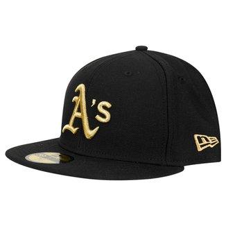 Boné New Era 5950 MLB League Oakland Athletics 9169c5388af