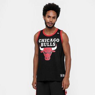 Camiseta Regata New Era NBA Basic Logo Chicago Bulls 13ab76b61bc