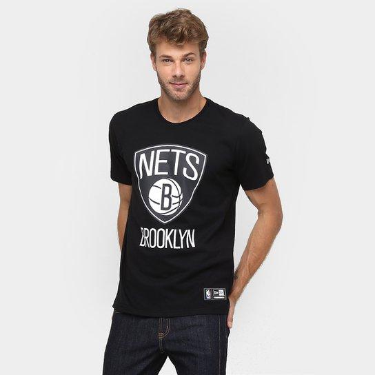c15e548b1d Camiseta New Era NBA Basic Logo Brooklyn Nets | Netshoes