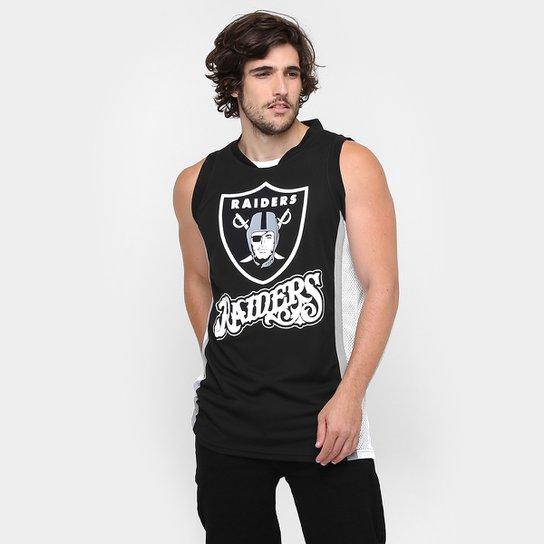 e44ff5ae4e373 Camiseta Regata New Era NFL Vintage Jersey Oakland Raiders - Compre ...