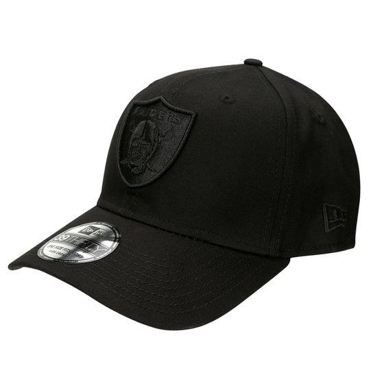 8d16346156738 Boné New Era 3930 Hc Black On Black Oakland Raiders - Compre Agora ...