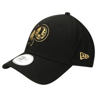 Boné New Era 940 Hc Sn Gold On Black Washington Redskins 4e3ba2baa47