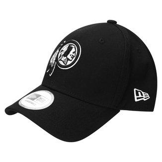 Boné New Era 940 Hc Sn White On Black Washington Redskins 82775852f8c