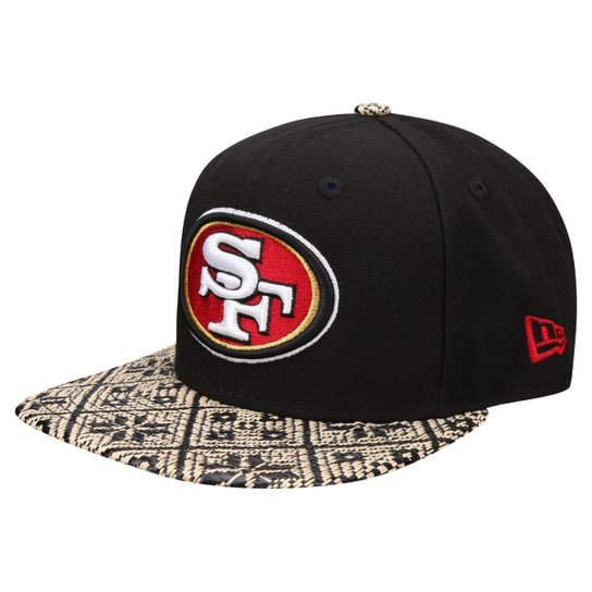 Boné New Era NFL 950 Of Sn Straw Zaw San Francisco 49Ers - Compre ... cc43744b92c