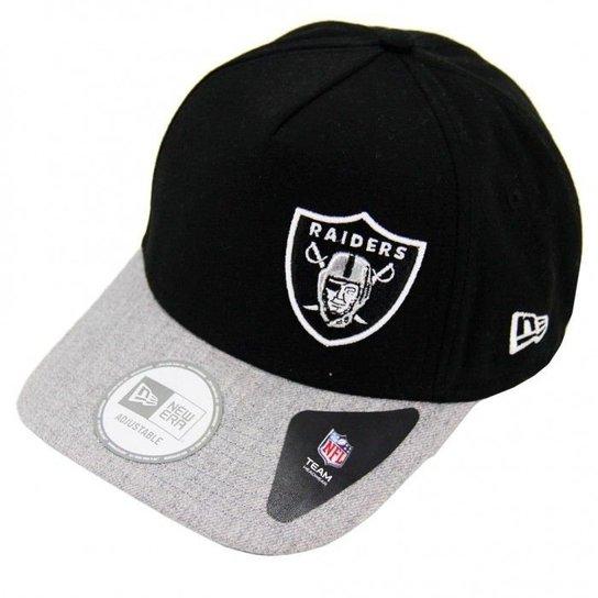 Boné Oakland Raiders 940 Snapback Aba curva - New Era - Compre Agora ... d1784ec8350