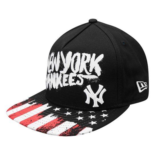 6622dde993a9b Boné New Era MLB 950 Af Sn Usa Flag New York Yankees - Compre Agora ...