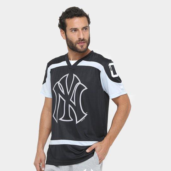 Camiseta MLB New York Yankees New Era Team 31 Masculina - Preto ... aad987d8173
