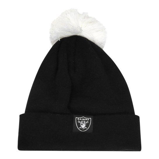 d2d034c0dcc22 Gorro New Era NFL B Sms Lic 129 Oakland Raiders - Compre Agora ...