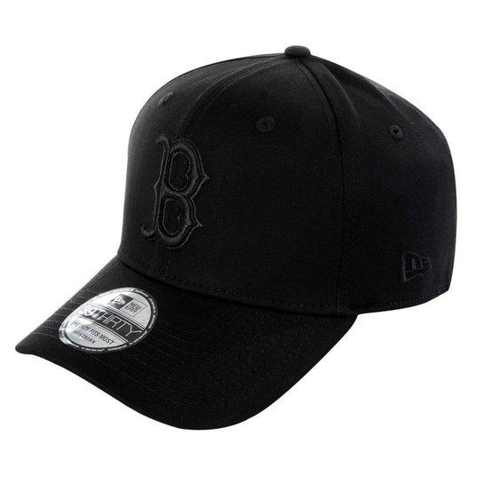 Boné Boston Red Sox 3930 Black on Black MLB - New Era - Compre Agora ... ce9cca1ce1a