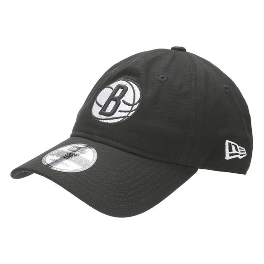 4bc263015567e Boné New Era NBA 920 St Small Logo Brooklyn Nets - Compre Agora ...