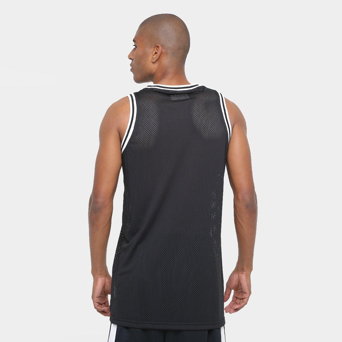 Camiseta Regata NBA Brooklyn Nets New Era Jersey Game Masculina ... 6cfb416a72f