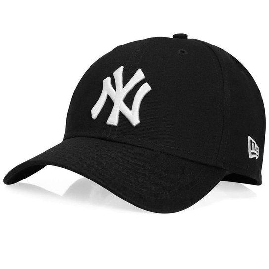 5b14ad14868bd Boné New Era New York Yankees Preto Snapback - Preto - Compre Agora ...
