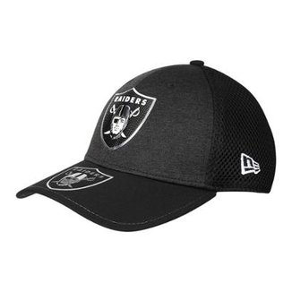 9cee3059ee9d6 Boné New Era Oakland Raiders Aba Curva 3930 On Stage Masculino