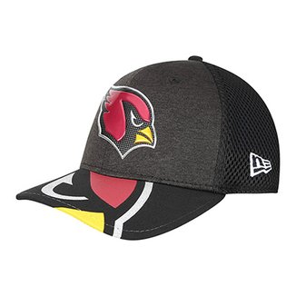 Boné New Era NFL Arizona Cardinals Aba Curva 3930 On Stage Masculino 230b417ce83