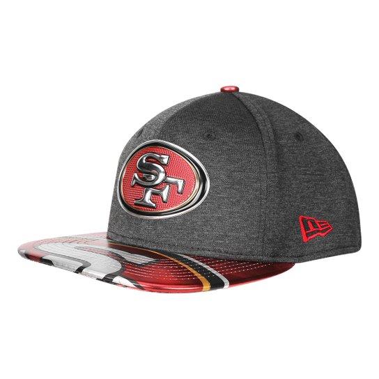 7dccbfe997 Boné New Era NFL San Francisco 49Ers Aba Reta 950 Original Fit Sn On Stage  Masculino