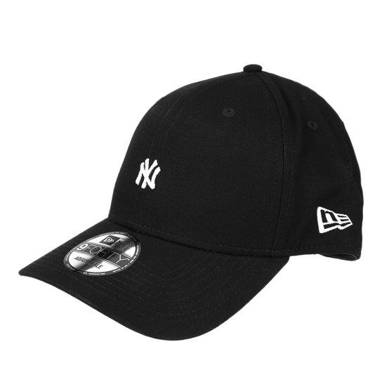 Boné New Era New York Yankees Aba Curva 940 Masculino - Preto ... 54dceb2610a