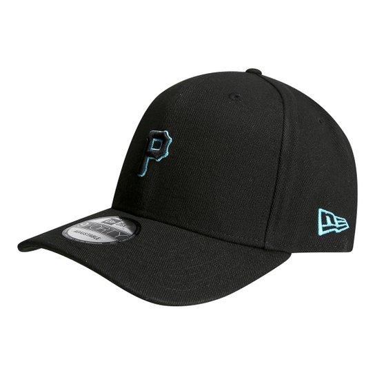 Boné New Era MLB Pittsburgh Pirates Aba Curva 940 Logo - Compre ... 0c0fc4585f1