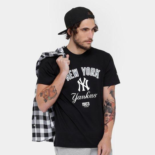 00e428f16 Camiseta MLB New York Yankees New Era 3 Righ Masculina - Compre ...