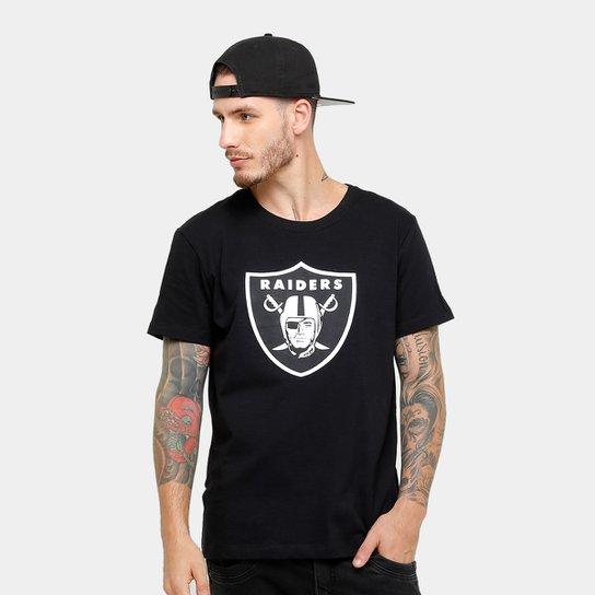 edeb5b3b47449 Camiseta NFL Oakland Raiders New Era Team Masculina - Compre Agora ...