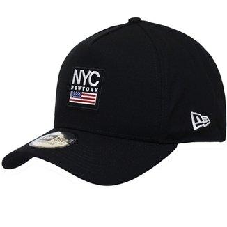 Boné New Era Aba Curva Snapback City Pack Nyc 32912111867