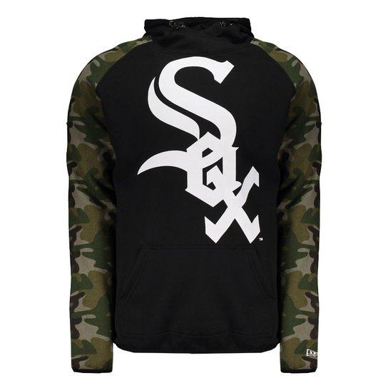 Moletom New Era MLB Chicago White Sox Masculino - Compre Agora ... af2d317c3fa