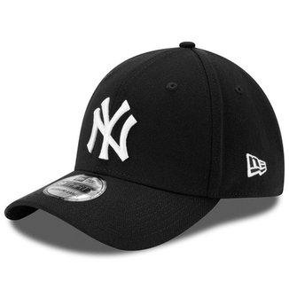 856ad9e910973 Boné New Era Aba Curva Fechado Mlb Ny Yankees Colo