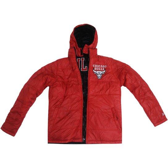 Jaqueta New Era Nba Chicago Bulls Bomber Dupla Fac - Compre Agora ... c9209d8e04f5