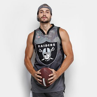 Regata NFL Oakland Raiders New Era Camo Masculina 4cdf1817967