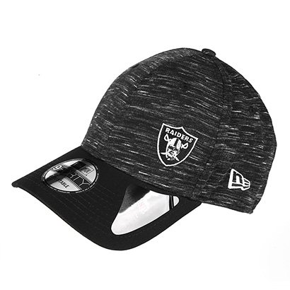 Boné New Era NFL Oakland Raiders Aba Curva 940 Hp Sn Flame Mini