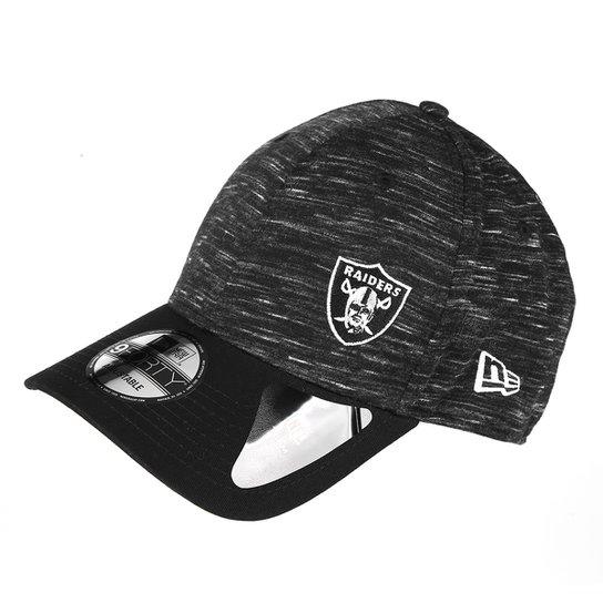 93c4075950bb6 Boné New Era NFL Oakland Raiders Aba Curva 940 Hp Sn Flame Mini - Preto