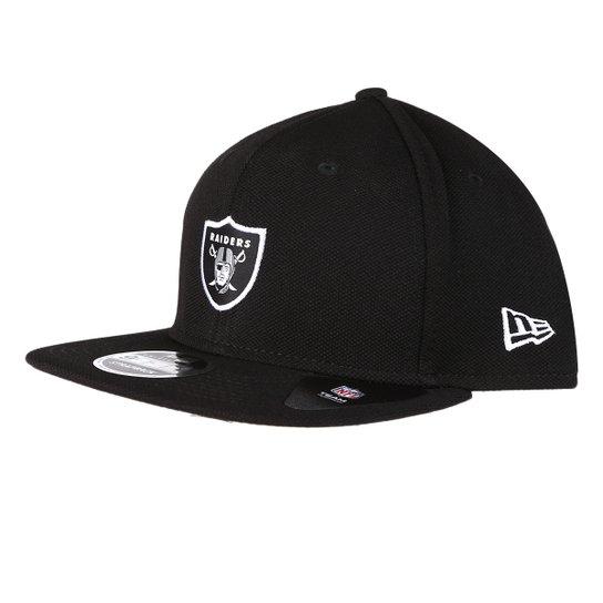 Boné New Era NFL Oakland Raiders Aba Reta 950 Of Sn Lic1026 Su17 - Preto 085cf991d67