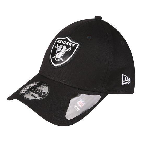 Boné New Era NFL Oakland Raiders Aba Curva 3930 Lic996 Su17 - Compre ... a4cb322c116